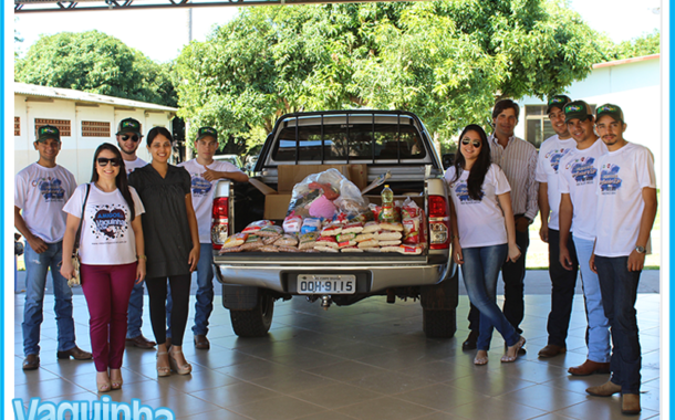 MNP JOVEM visita o Asilo São João Bosco e entrega alimentos arrecadados