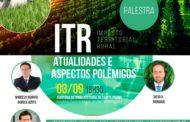Imposto Territorial Rural é tema de palestra no Sindicato Rural no dia 03/09