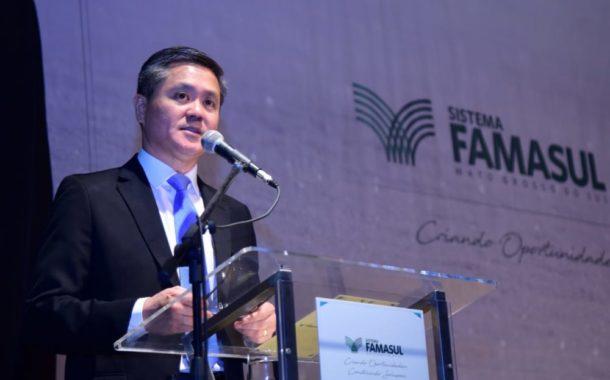 Em cerimônia de posse, Presidente da Famasul, destaca união do setor, representatividade e trabalho coletivo