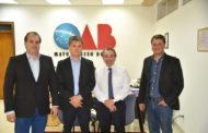 Presidente da Famasul se reúne com presidente da OAB/MS para tratar das demandas do setor produtivo