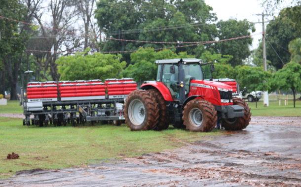Abertura plantio de soja, safra 2018/19 - Terenos-MS