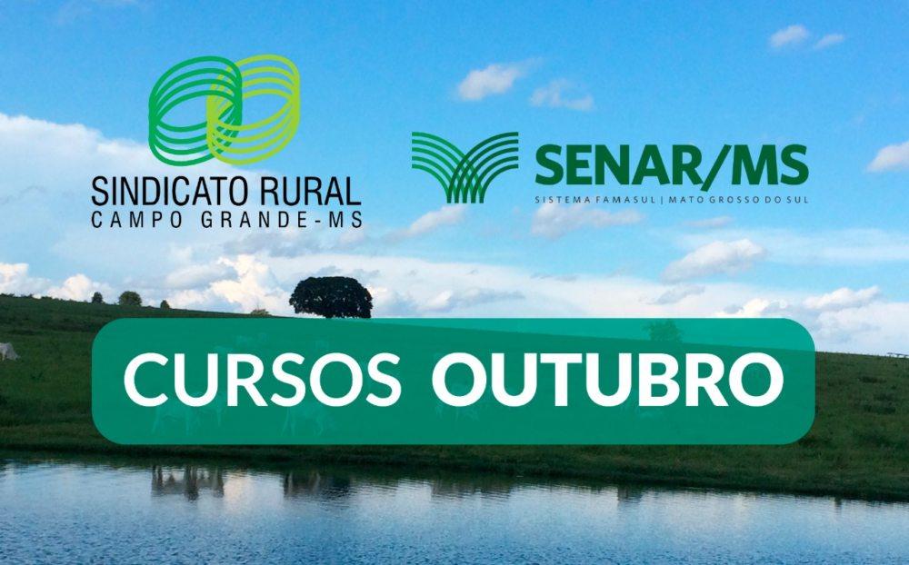 Sindicato Rural de Campo Grande oferece 13 cursos gratuitos em outubro