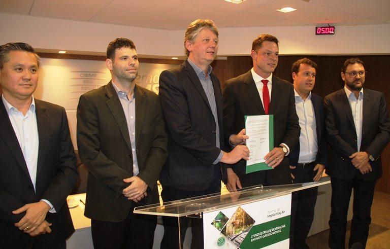 Mato Grosso do Sul garante a primeira indústria de processamento de borracha