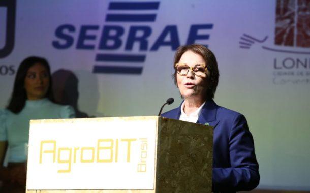 Ministra defende uso de tecnologia na agropecuária brasileira para ampliar mercado